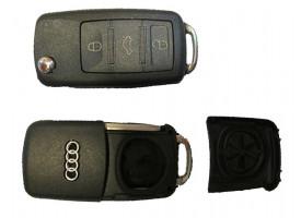 Audi А8 с 2003 года корпус выкидного ключа 3 кнопки