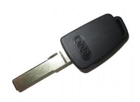 Audi заготовка ключа с местом под чип