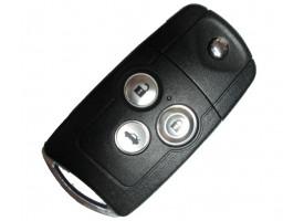 Honda выкидной ключ с дистанционным управлением (3 кнопки), 433Mhz. Модель Civic
