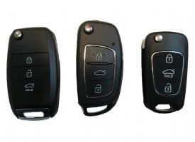 Hyundai универсальный ключ с выкидным механизмом. Производитель: Keyless Engineering.