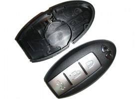 Infiniti(Инфинити) корпус ключа со слотом
