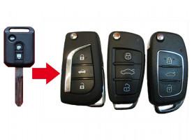 Nissan Almera Classic ключ с чипом и платой