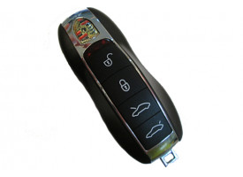 "Porsche smart ключ 4 кнопки Без системы Keyless""Go 434 Mhz"