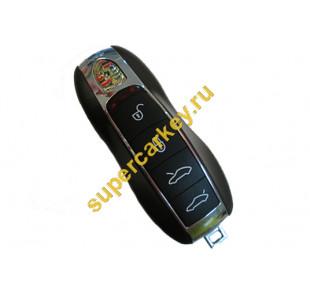 Porsche smart ключ 4 кнопки 433 mhz