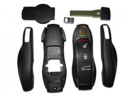 Porsche корпус smart ключа на 3 кнопки