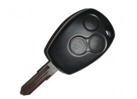 Renault корпус ключа три кнопки