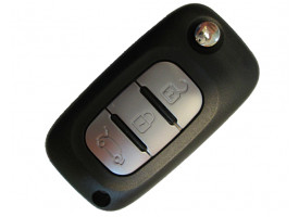 Renault корпус выкидного ключа 3 кнопки
