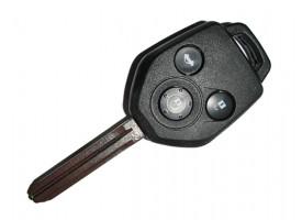 Subaru ключ 3 кнопки, лезвие TOY43R, 4D-60_80bit
