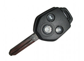 Subaru(Субару) ключ с дистанционным управлением (3 кнопки) лезвие NSN14, 4D_62