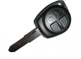 Suzuki(Сузуки) ключ (2 кнопки).PCF 7936 Модели:: GRAND VITARA с 2005г., SWIFT с 2004г., SX4 2006-2013 г (номер на плате TS002 )