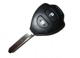 Toyota(Тойота)(Тойота) ключ VALEO с дистанционным управлением (2 кнопки), чип 4D 80bit. Лезвие TOY 47. Подходит к моделям, произведенным в Великобритании после 2010 г.в