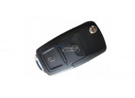 Volkswagen(Фольксваген) выкидной ключ с дистанционным управлением 2 кнопки. Для автомобилей из Европы до мая 2001г. Номер:: 1JO 959 753 A,N