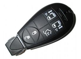 Jeep(Джип) smart ключ (5 кнопок). Для автомобилей из Европы
