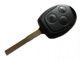 Ford(Форд) ключ с дистанционным управлением (3 кнопки). Чип 4D-63. Модели:: Focus II и д.р модели