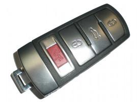 Volkswagen(Фольксваген) smart ключ CAN 48. Подходит к модели PASSAT B6, B7, CC. (б/у, отличное состояние, чип заменен на новый) Для моделей из США