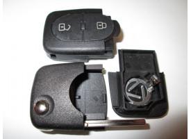 Volkswagen(Фольксваген) корпуса выкидного ключа (2 кнопки). Европа
