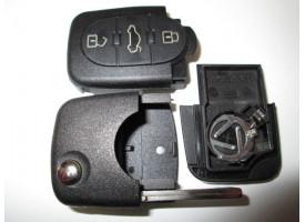 Volkswagen(Фольксваген) корпуса выкидного ключа (3 кнопки). Европа