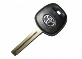 Toyota(Тойота) заготовка ключа с местом под чип, лезвие TOY 40