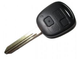 TOYOTA(Тойота) ключ VALEO с ДУ (2 кнопки), чип 4С. Для моделей:: COROLLA британской сборки. Avensis 2001-2003