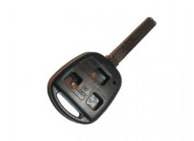 Lexus(Лексус) корпус дистанционного ключа (3 кнопки), лезвие 47мм