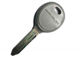 Jeep(Джип) заготовка ключа с местом под чип ( логотип Chrysler)