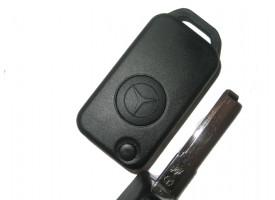 Mercedes(Мерседес) корпус выкидного ключа (1 кнопка)