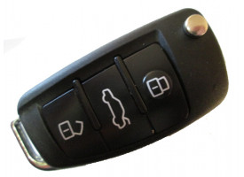 Audi корпус выкидного ключа (3 кнопки)