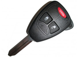Chrysler(Крайслер) ключ с дистанционным управлением (2 кнопок+panic). Модель CARAVAN и TOWN & COUNTRY с 2005 г.в