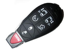 Jeep(Джип) smart ключ (5 кнопки+panic)